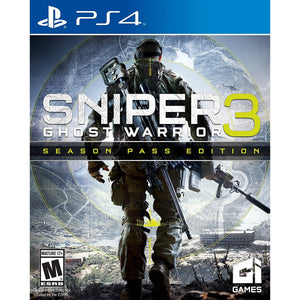 PS4 Sniper: Ghost Warrior 3 Season Pass Edition