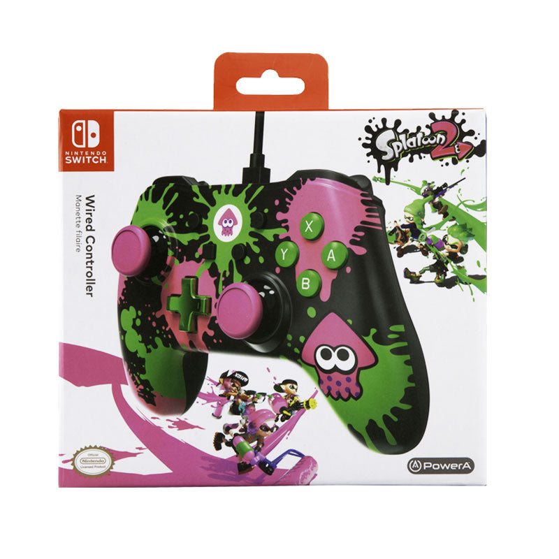 PowerA Wired Controller for Nintendo Switch - Splatoon 2