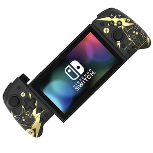 Hori Split Pad Pro / Grip Controller Portable Mode for Nintendo Switch (Pikachu Black & Gold)