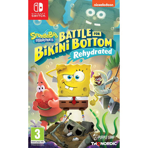 Nintendo Switch SpongeBob SquarePants: Battle for Bikini Bottom - Rehydrated