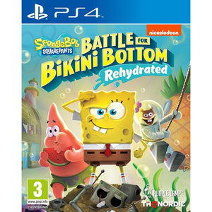 PS4 SpongeBob SquarePants: Battle for Bikini Bottom - Rehydrated