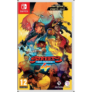 Nintendo Switch Streets Of Rage 4 / Bare Knuckle IV with Bonus Soundtrack