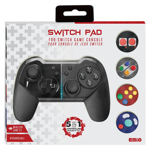 Emio Switch Pad 5 in 1 Controller for Nintendo Switch