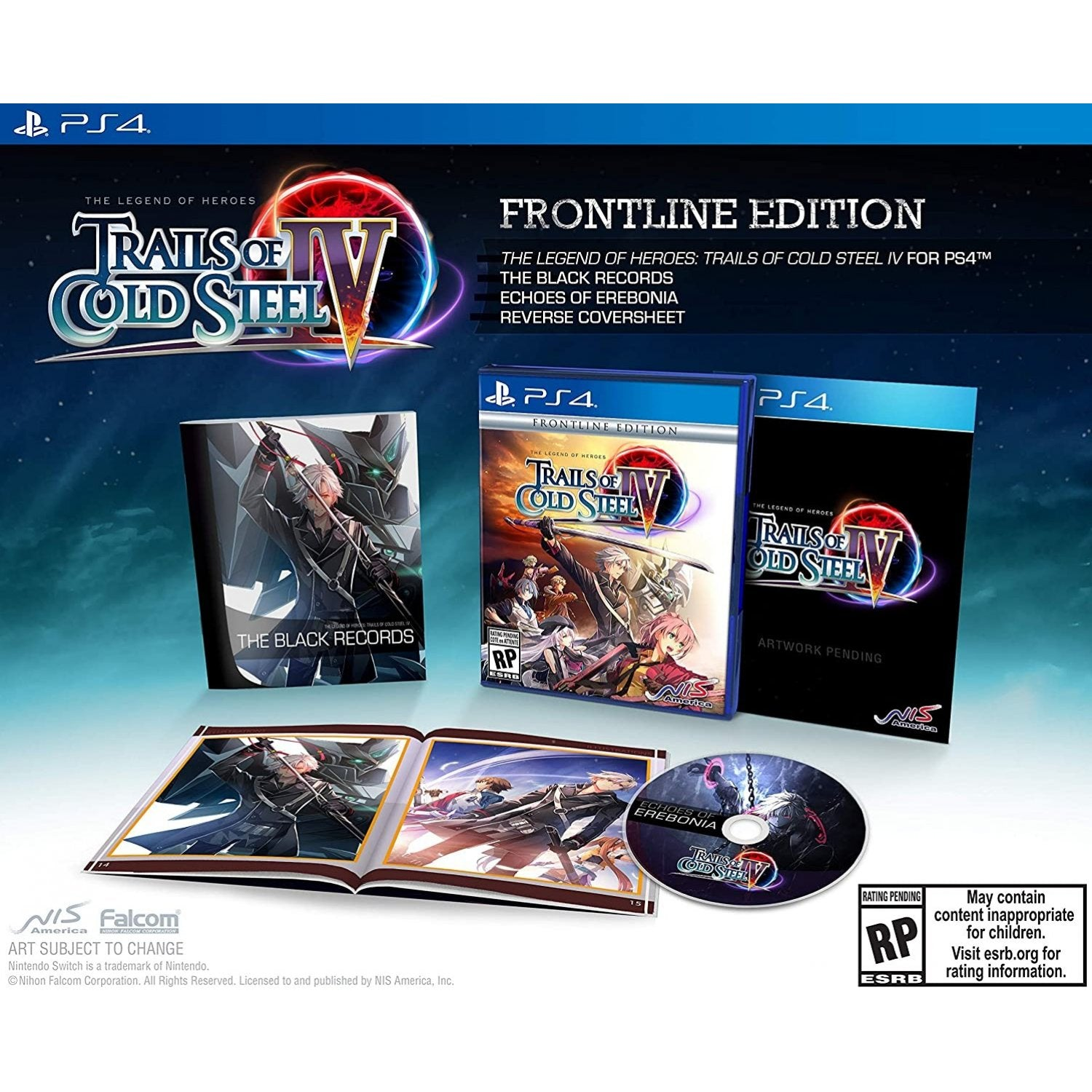 PS4 The Legend of Heroes: Trails of Cold Steel IV [Frontline Edition]
