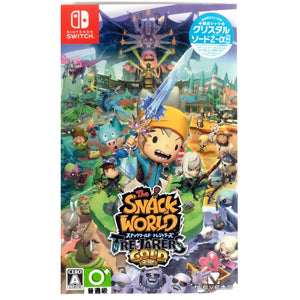 Nintendo Switch The Snack World: Trejarers Gold (Japanese)