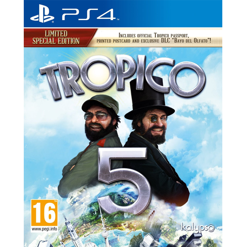 PS4 Tropico 5  Limited Special Edition