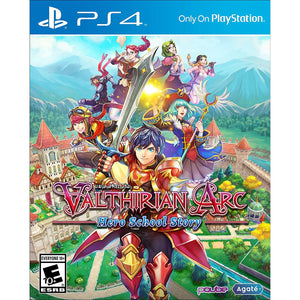PS4 Valthirian Arc: Hero School Story SteelCase Edition