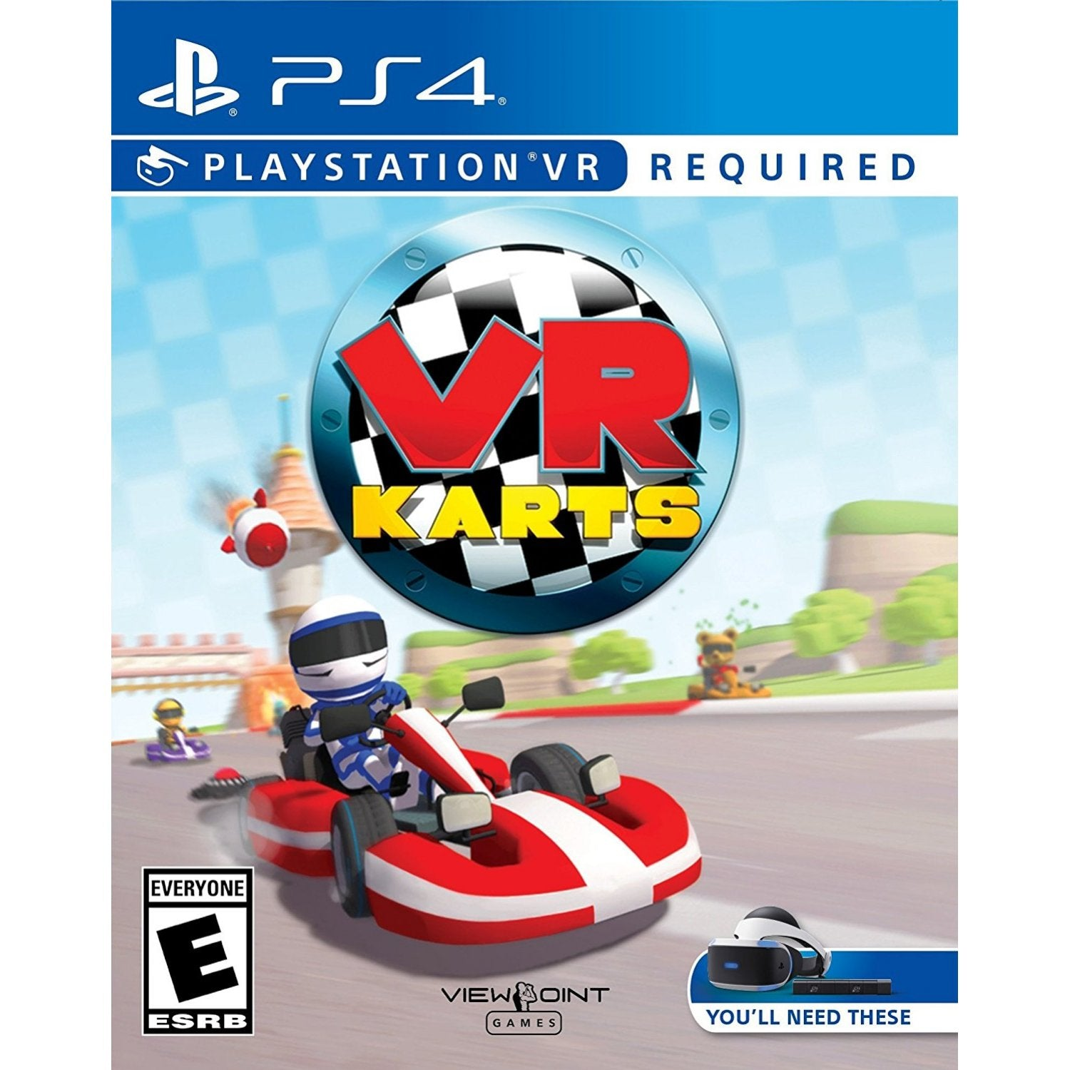 Vr Ps4 Bravo Team Aim Controller Region 3 English Karts