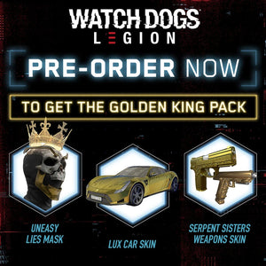 PS4 Watch Dogs Legion [Resistance Edition]