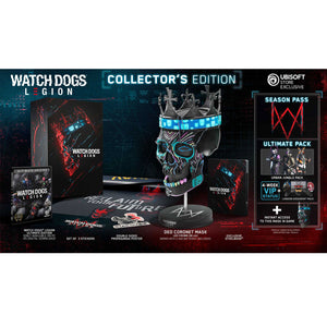 PS4 Watch Dogs Legion Collector's Edition