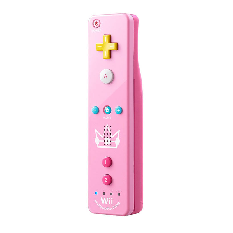 Wii U NINTENDO Official Remote Plus / Princess Peach Edition