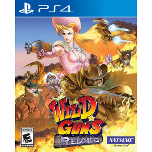 PS4 Wild Guns: Reloaded
