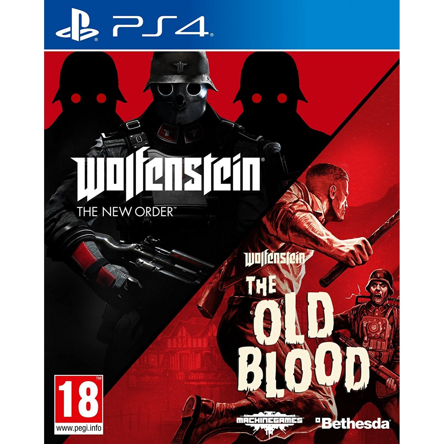 Sony Playstation 4 Page Ps4 The Witcher 3 Wild Hunt Game Of Year Edition Reg3 English Wolfenstein Two Pack