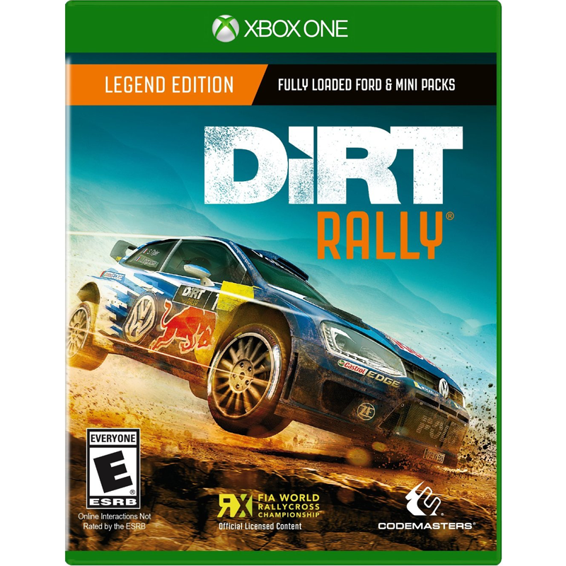 xbox one dirt rally. Black Bedroom Furniture Sets. Home Design Ideas