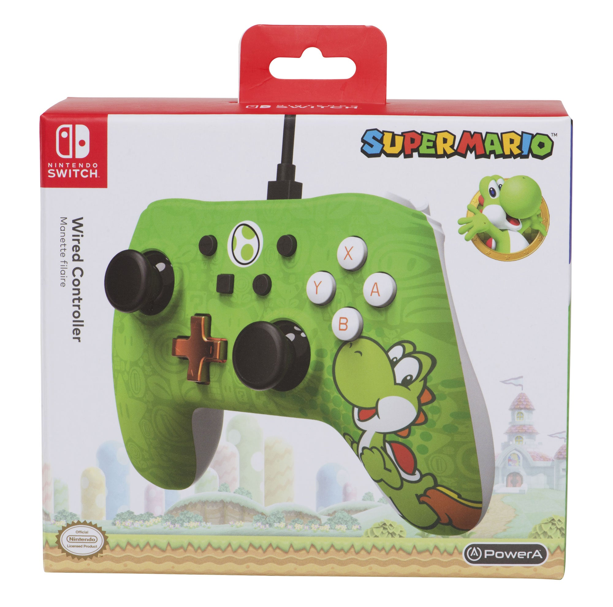 PowerA Wired Controller for Nintendo Switch - Yoshi