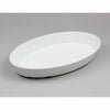 FLOATING 10'' OVAL PLATTER - IVORY - EFAY # 111710IV