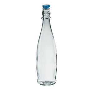 1L INDRO WATER BOTTLE BLUE CAP - BORGONOVO # 13150020