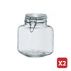 GLASS JAR 2L  (2 Pieces)