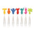 SNACK MARKERS PARTY PEOPLE SET OF 8 - ASSORTED