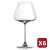 DESIRE ELEGANT RED WINE GLASS - 590ML (6 pieces)