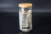 Pop Jar with Wooden Lid - Piling Cows 1個