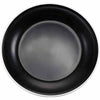"ENAMEL 9"" ROUND SIDE DISH - BLACK - EFAY # 2207093"