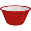 ENAMEL LOOK 2OZ RAMEKIN - RED - EFAY # 2211024