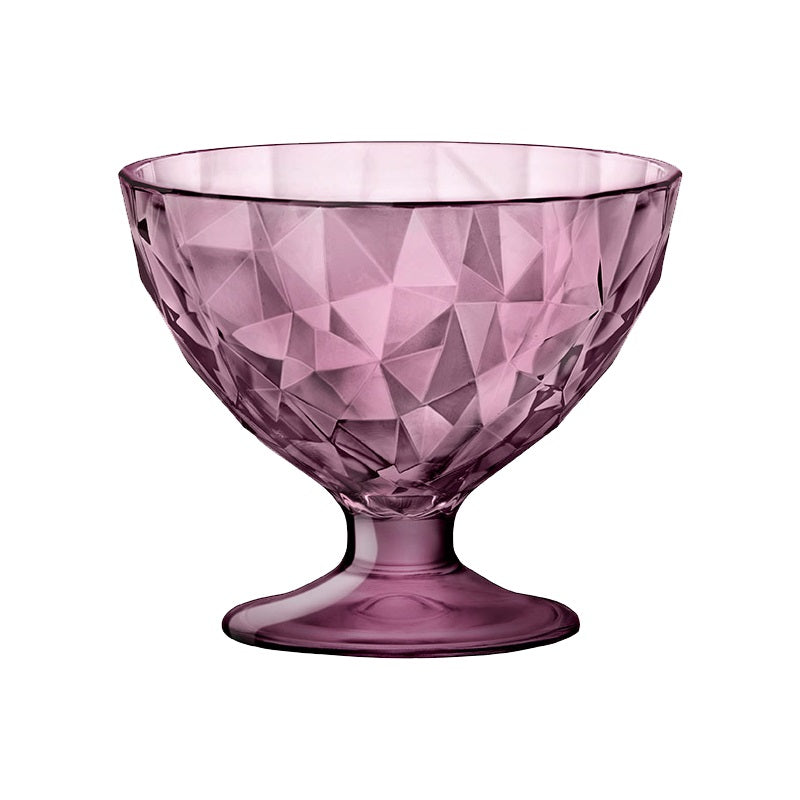 DIAMOND DESSERT BOWL - PURPLE - BORMIOLI ROCCO # 3.02256