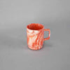 CLOUDY 12 OZ STACKABLE MUG - RED - EFAY # 302306RI