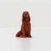 Italian Vintage figurines - Irish Setter