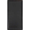 WOODY BAKER RECTANGULAR PLATTER - BLACK - EFAY # 407412BK