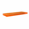 CRYSTAL PASTRY RECTANGULAR TRAY - ORANGE - EFAY # 408312OR