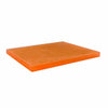 CRYSTAL PASTRY RECTANGULAR TRAY - ORANGE - EFAY # 408512OR