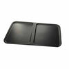 "ZEN 21"" REC TRAY 2 COMPARTMENT - BLACK - EFAY # 408521BK"