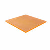 CRYSTAL PASTRY SQUARE TRAY - ORANGE - EFAY # 408612OR
