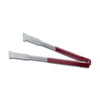 ONE PIECE COLOR CODED KOOL TOUCH HANDLE VERSAGRIPTONG - RED - VOLLRATH # 4791240