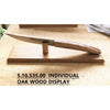 INDIVIDUAL CAK WOOD DISPLAY - BROWN - CLAUDE DOZORME # 5.10.535.00