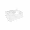 GN COVER 1/2 PC TRANSPARENT LID - EFAY # 540512TR