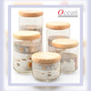 750ML POP JAR WITH WOODEN LID (3 PIECES)