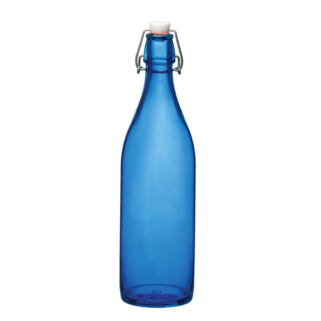 GIARA BOTTLE - BLUE - BORMIOLI ROCCO # 6.66260.706