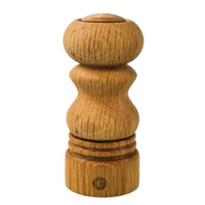 CERAMIC GRINDER SALT & PEPPER (OAK) -BROWN - CRUSHGRIND # 70150-2002