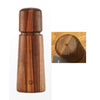CERAMIC GRINDER SALT (WALNUT) - BROWN - CRUSHGRIND # 70250-2031