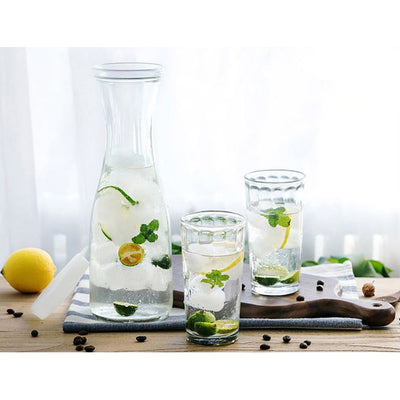 BLOSSOM JUICE BOTTLE WITH LID - 1000ML (2 PIECES)