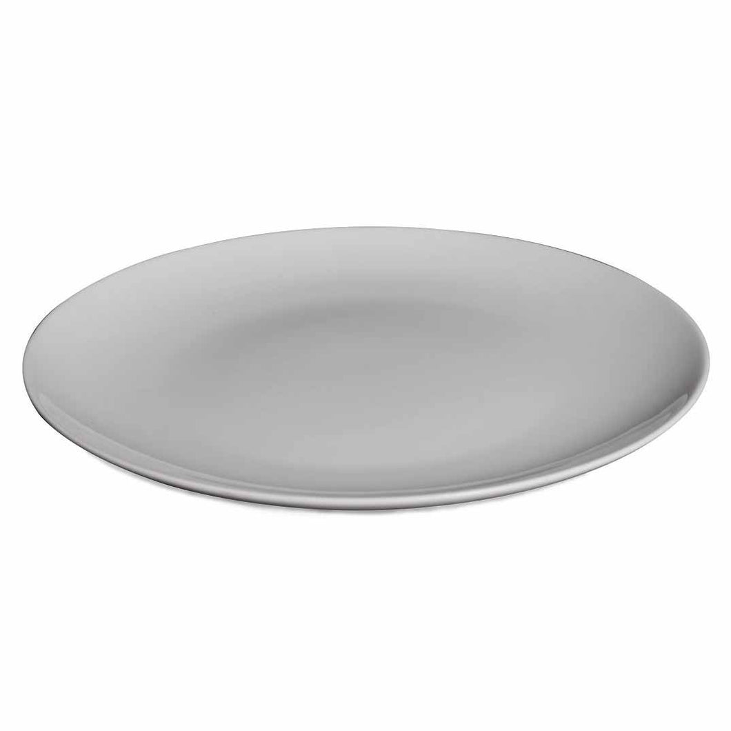 BONE CHINA COUPE PLATE - WHITE - DON BELLINI # DB1010015