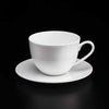 BONE CHINA CUP & SAUCER - WHITE - DON BELLINI # DB1030036