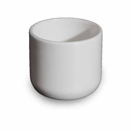BONE CHINA CHINESE WINE CUP - WHITE - DON BELLINI # DB1030403
