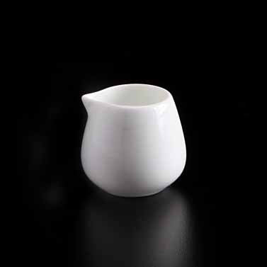BONE CHINA CREAMER - WHITE - DON BELLINI # DB1050107