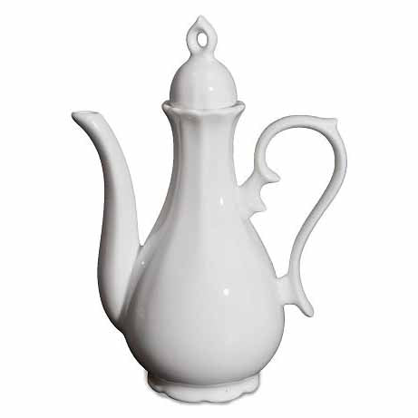 BONE CHINA CHINESE WINE BOTTLE - WHITE - DON BELLINI # DB106WB26