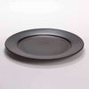 "DE TERRA PLATE 9"" l 23CM - MATT BLACK - DON BELLINI # DB2110123"