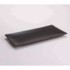 "DE TERRA RECT. PLATE 13"" l 33 CM - MATT BLACK - DON BELLINI # DB2113033"